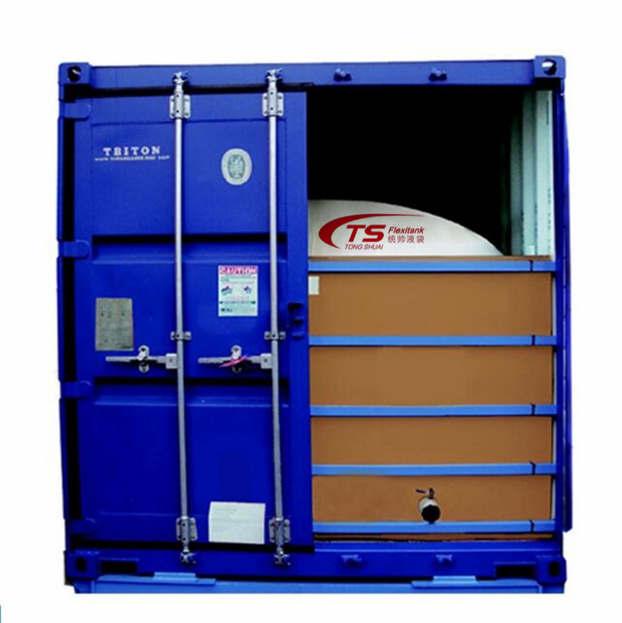 Flexitank per Melassa olio in 20ft container