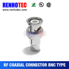 CCTV Connector Plug BNC Male Video Adapter for CCTV SYSTEM Camera