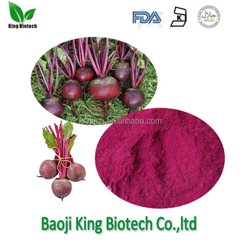 High Quality GMP standard soluble Red Beet root Powder