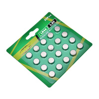 1.5v free mercury button cell AG131.5v lr44 alkaline batteries