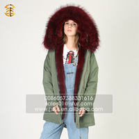 Wholesale China Custom Design Women Faux Fur Winter Coat