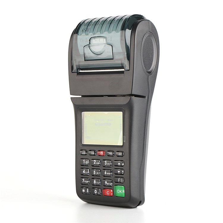Handheld Bus Ticket Booking Machine Supports Sms Gprs Wifi