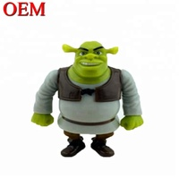 NBCU Audit Factory Cheap Custom Plastic Shrek Toy Figure