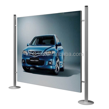 Ordinaire Advertising Backdrop Stand For Outdoor Car Display