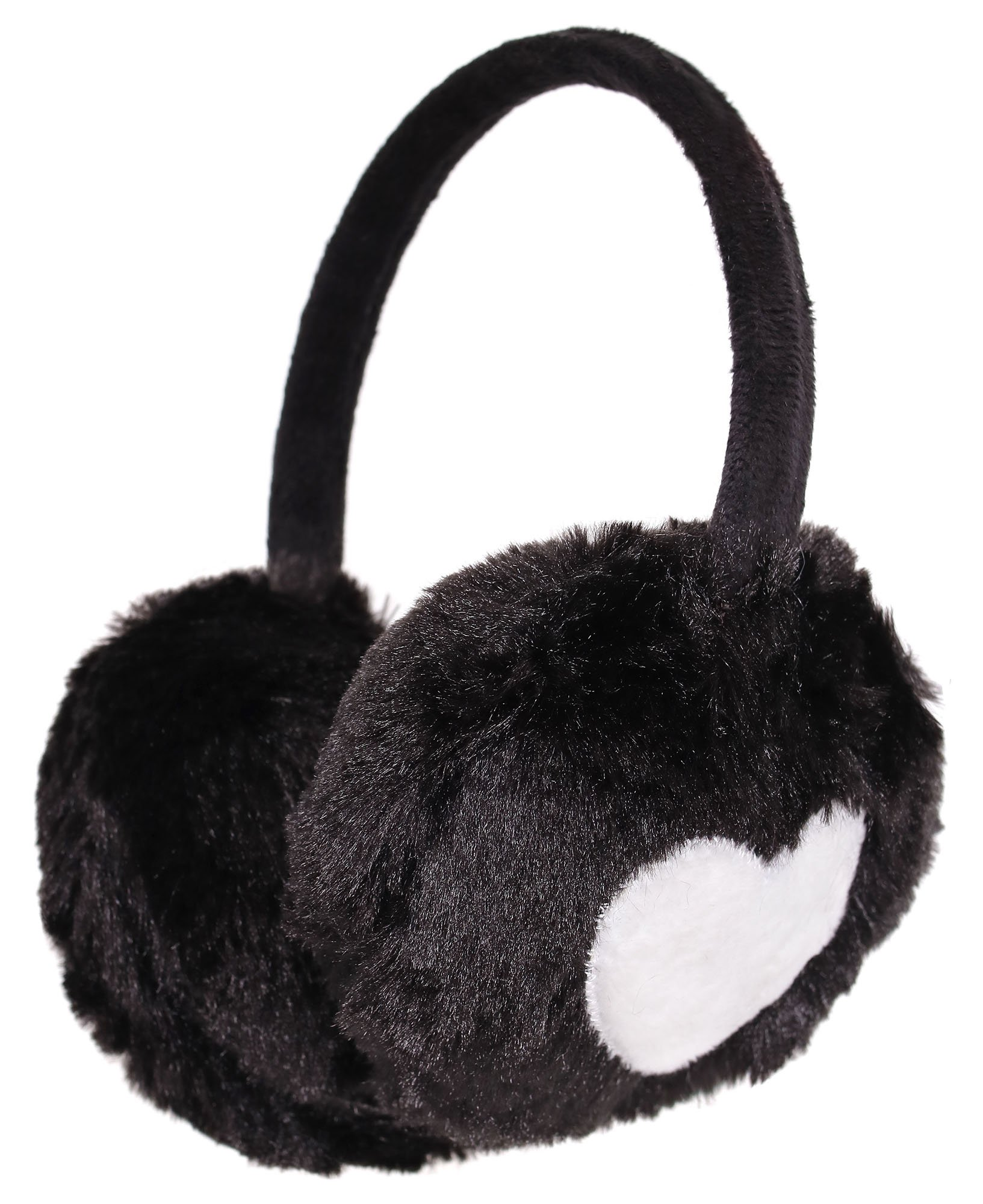 RUYA Men Winter Cold Proof Earmuffs Foldable Faux Fur Ear Warmer Ear Muff