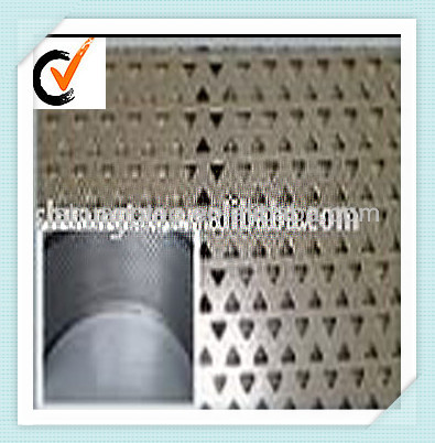 aluminium/stainless steel punched sheet
