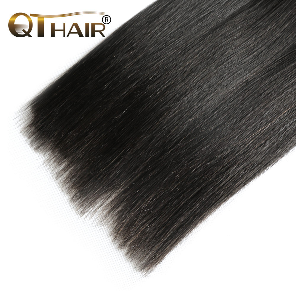 Queen Hair Products Brazilian Virgin Hair Straight 3 Bundle
