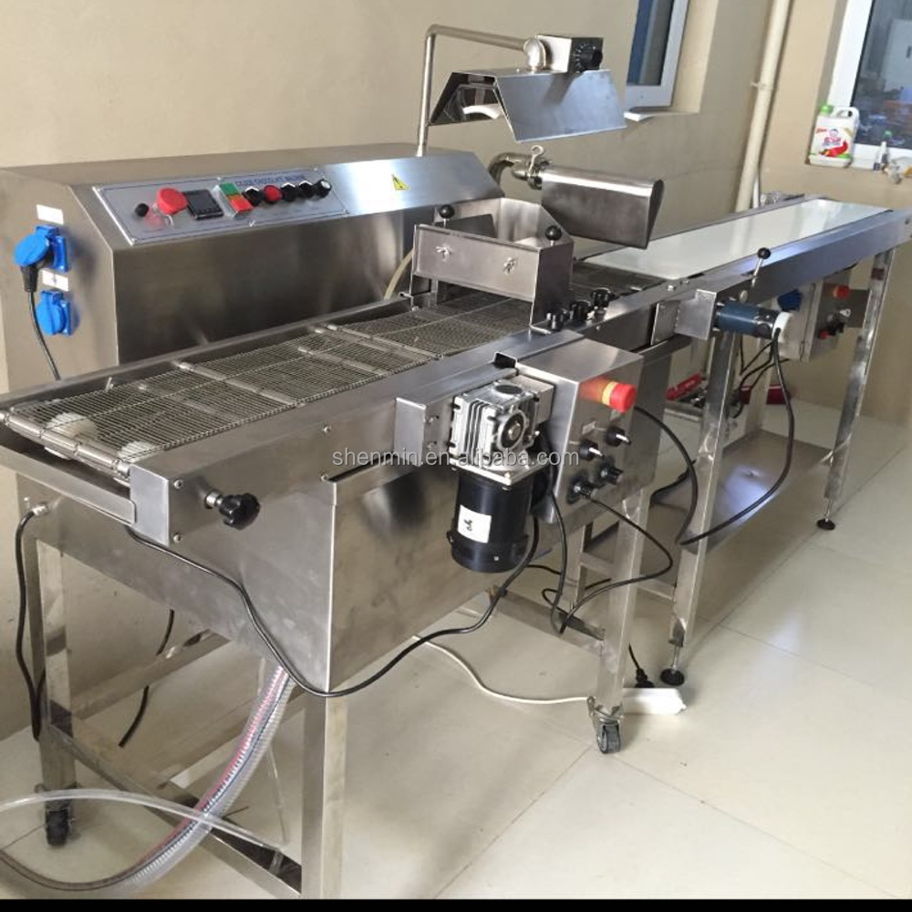 30L Small capacity chocolate enrobing and coating machine