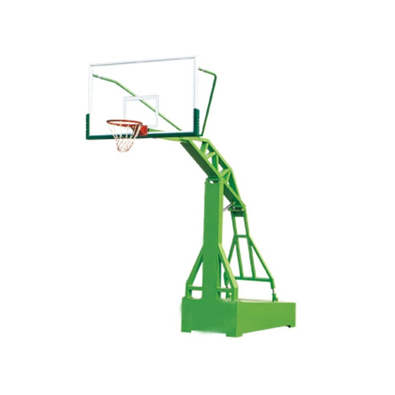 Professional adjustable wall mounted basketball hoops / pole / stand