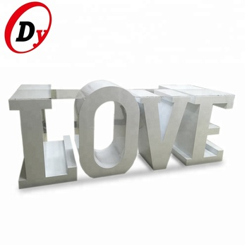 Custom Made Battery Powered Wedding Party Decorating Rgb Color 3d Led Lighted Bulb Love Wood Letters Buy Love Wood Letterswood Carving Lettersled