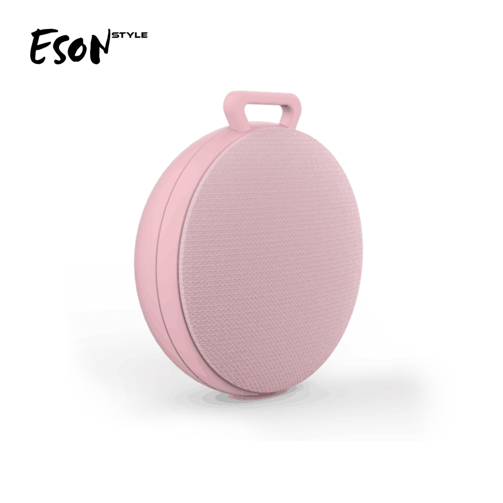Eson Style Fabric HiFi Mini portable Bluetooth Speaker V4.2 Mini 3W gadgets new arrivals Bluetooth mobile speaker mp3