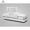 China factory long-term supply 20 Gauge Steel antique white finish casket metal