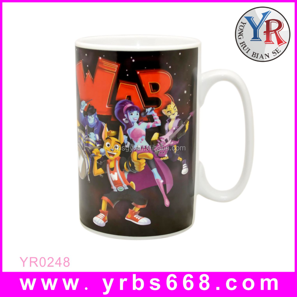 Porcelain Sublimation White Travel Big Mug Factory Wholesale Gifts