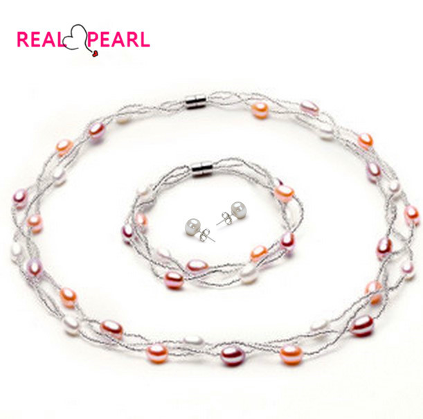 Cheap Pearl Necklace Sets: Aliexpress.com : Buy REAL PEARL HOT CHEAP Fashion Pearl