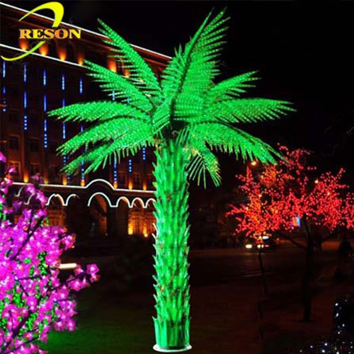 Garden Decor Led Outdoor Landscape Light Up Palm Tree