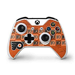 NHL Philadelphia Flyers Xbox One S Controller Skin - Philadelphia Flyers Design Vinyl Decal Skin For Your Xbox One S Controller