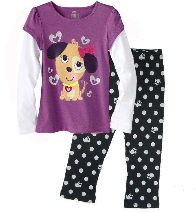 aacc22a9ad Ropa de bebé al por mayor niños impreso pijamas de dormir juegos para ...