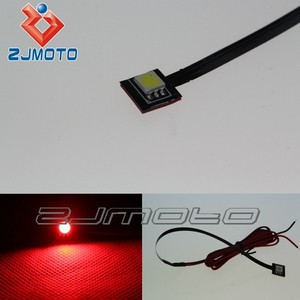 1 Red LED Motorcycle Reservoir Accent Light Street Bike Show Brake Master for CBR600 1000 rr 250 400 ducati 1098 1198 848