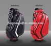 Fahion Unisxe Crystal PU Leather Waterproof Golf Bags Factory Custom Golf Standing Bag