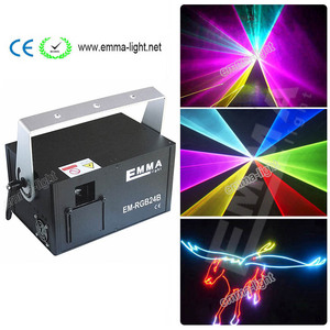 1500MW 3D animation laser lights moving head LED light KTV Bar RGB full color dmx controller SHOW Auditorium