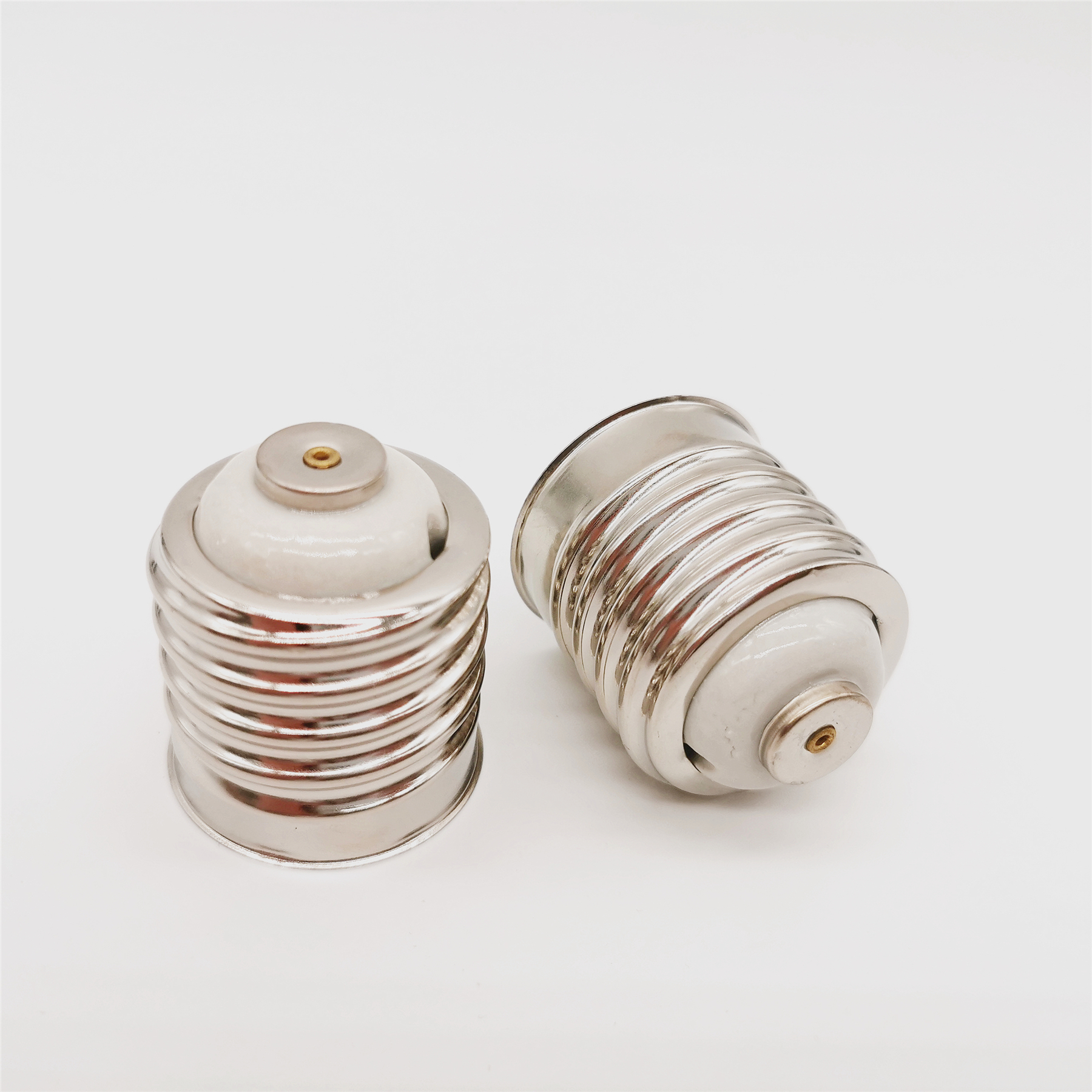 edison screw e40 porcelain lamp E40 copper ceramic lampholder  with holes E40 brass base e40 lamp socket E40 ceramic lamp holder