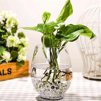 Blown Clear Glass Flower Vase Wholesalexuzhou Buy Glass Vase