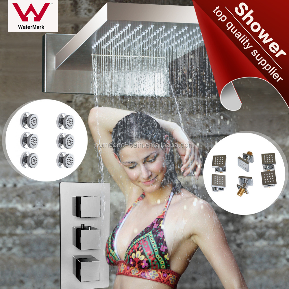 High quality thermostatic shower set,shower faucet ,conealed shower mixer