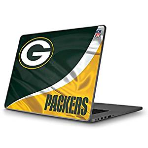 NFL Green Bay Packers MacBook Pro 13 (2009 & 2010) Skin - Green Bay Packers Vinyl Decal Skin For Your MacBook Pro 13 (2009 & 2010)