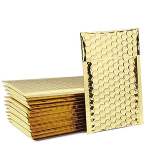10x13 Golden Metallic Padded Bubble Mailers