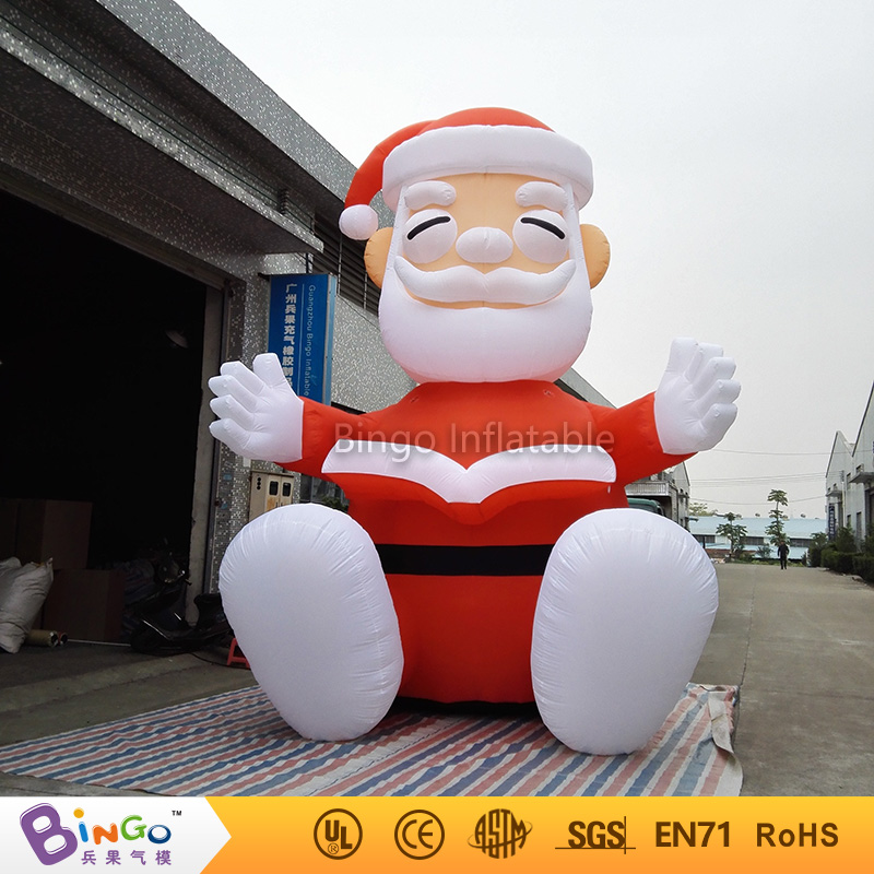 Hot-selling Inflatable Christmas Santa Clause Watch Book