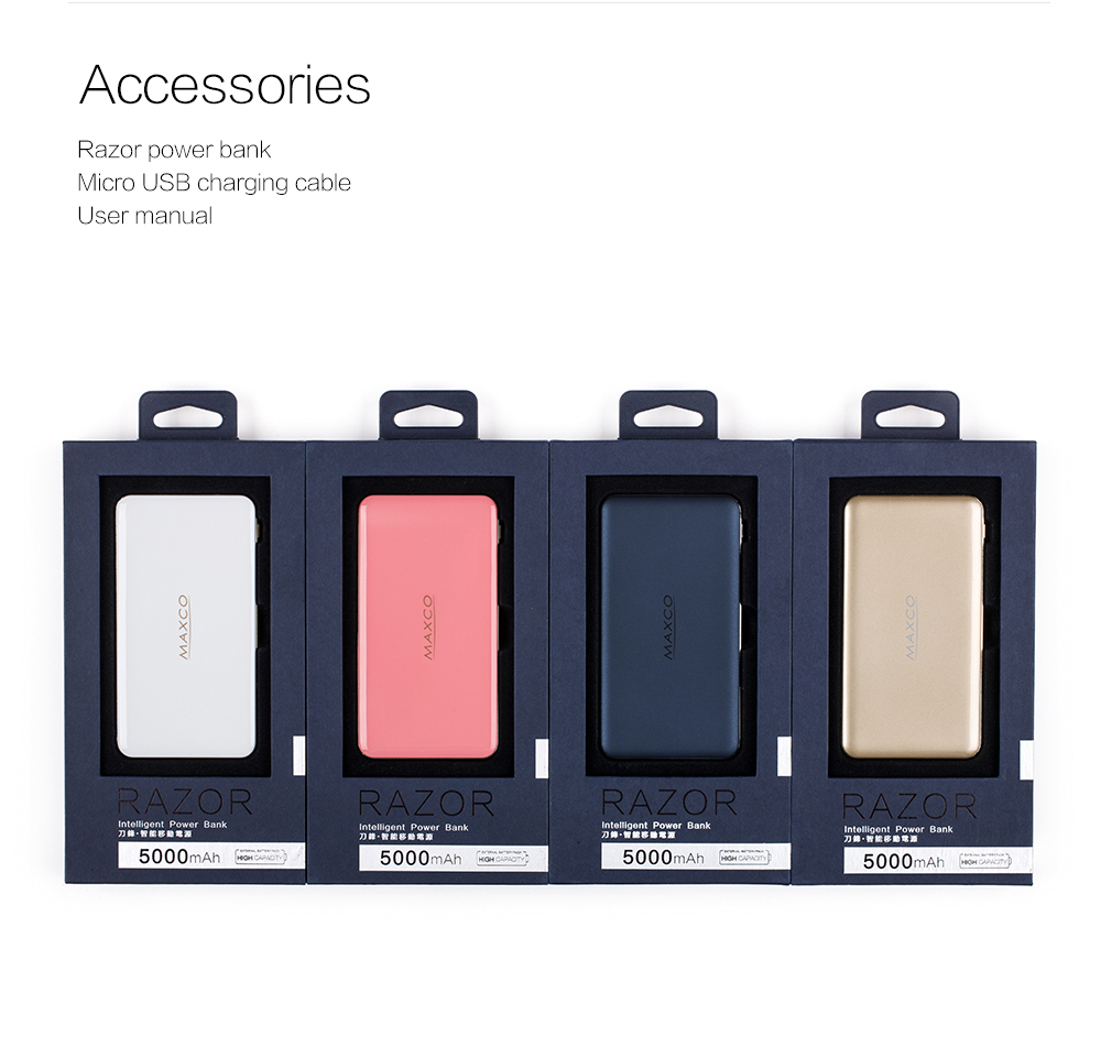 Universal Fast Charge 8000mAh Portable Mobile Power Bank, Pawer Bank for Cell Phone Tablet with CE, FCC, RoHS