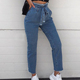Enquiries For Free Samples Jeans Wholesale China Plus Size Women Jeans Pants Custom Denim Skinny Ladies Women Jeans