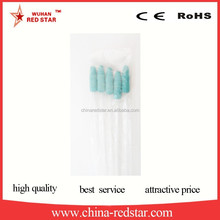 poultry farm semen disposable catheter for pig artificial insemination with foam tip