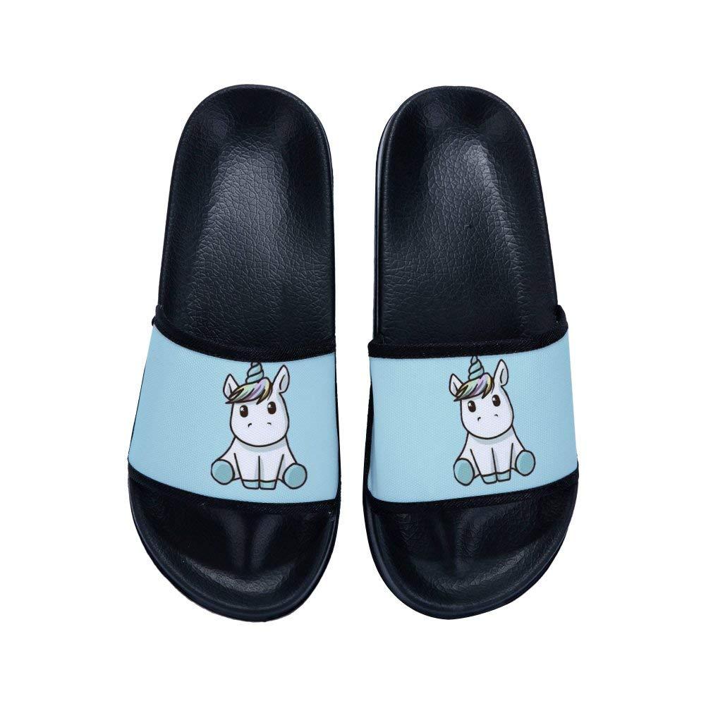 6be4e6fa57760e GordonKo Boys Girls Slide Sandals Cute Cartoon Anti-Slip Shower Sandal (Little  Kid