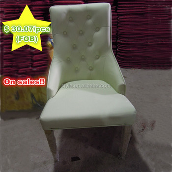 Hot sale !! B-317 flash blue gold leather aluminium living room modern chair used for hotel furniture,restaurant,banquet hall