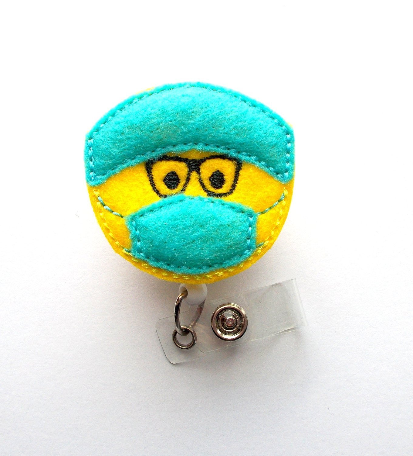 Buy Surgical Tech With Glasses - Badge Reel - Surgical
