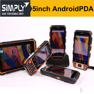 SIMPLY 5inch Android 5.1 rugged smartphone handheld logistic pda rfid data collector pda IP67 with rfid reader