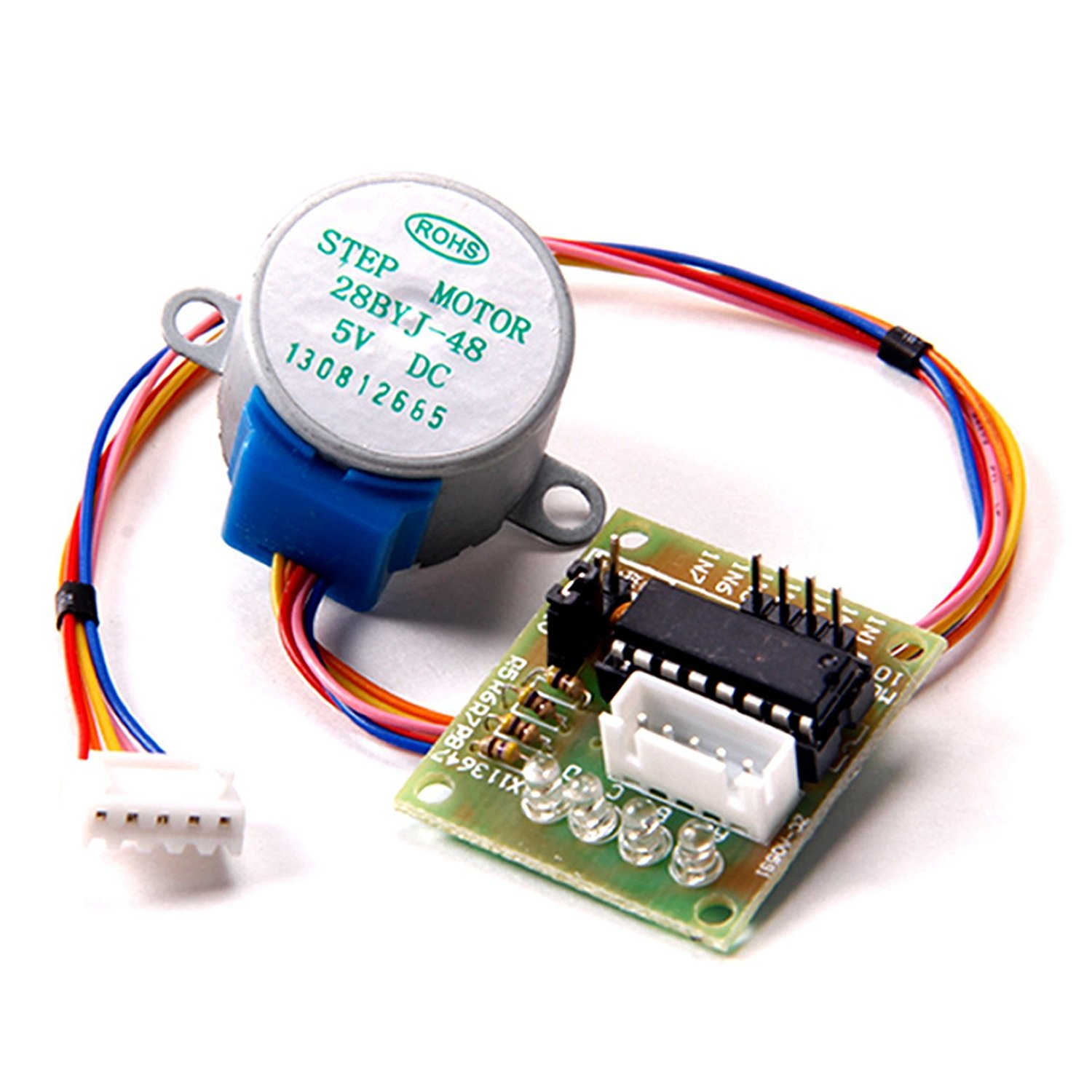 Cheap Byj Find Deals On Line At Alibabacom Arduino Stepper Motor Wiring Get Quotations Toogoor 28byj 48 28byj48 Dc 5v 4 Phase 5 Wire