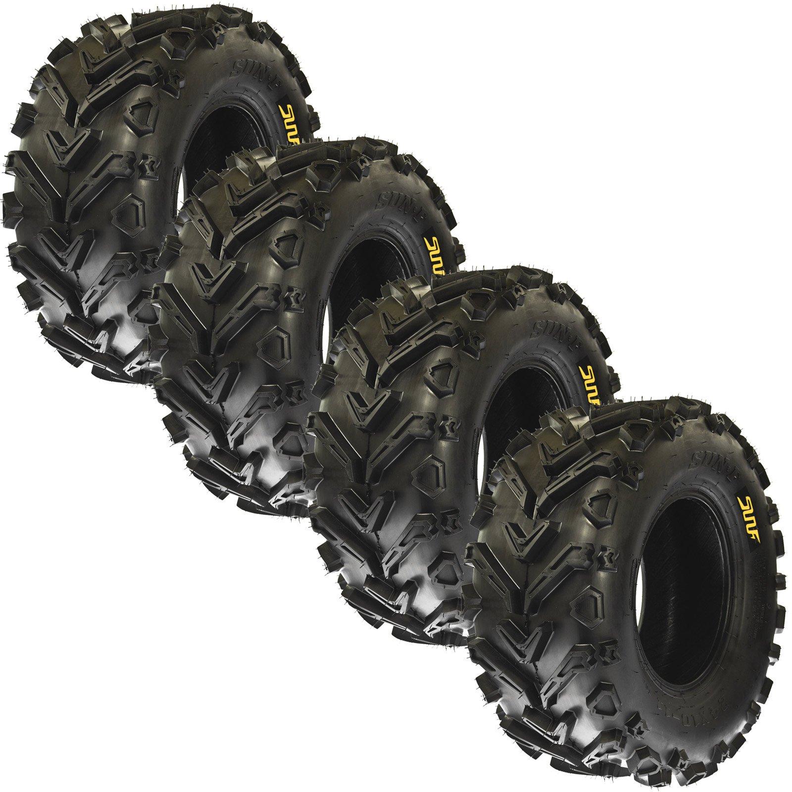 4 TIRE INNER TUBES 24x8-12 24x10-11 TR13 Straight Valve fit Honda Rancher ATV