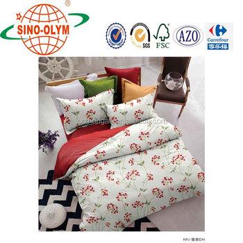 Home Textile 100% Cotton Queen Bed Comforter Set