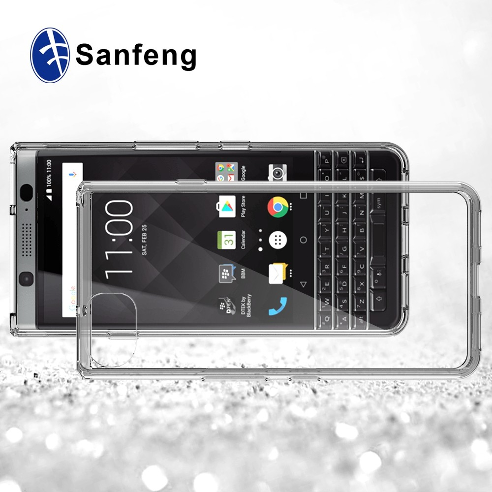 Soft TPU Combo Case For Blackberry Mercury Keyone DTEK70