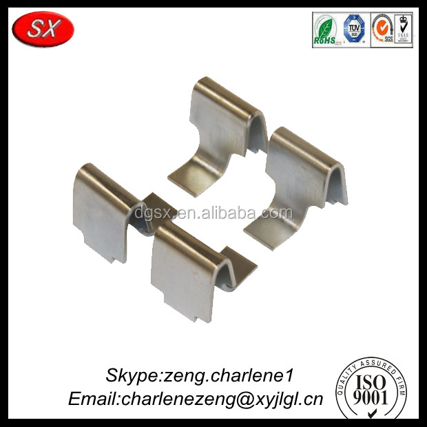 precision custom steel / metal shelf clips from products manufacturer with high quality