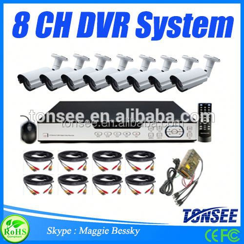 8CH D1 CCTV DVR Cheap Home Surveillance Security System,Ahd Cctv Camera,Surge Protection Cctv