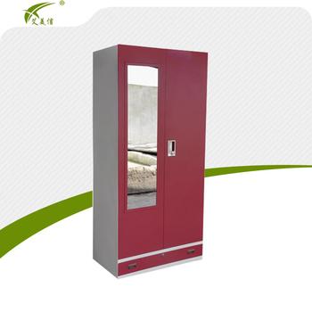 Easy Assemble Home Furniture Metal Alimrah Design Cheap Wardrobe Closet -  Buy Cheap Wardrobe Closet,Metal Alimrah Design,Home Furniture Product on