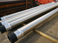 stainless steel pipe based water well screen pipe