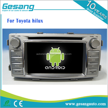 Android 6.0 touch screen lettore dvd Dell'automobile per Toyota Hilux car multimedia & sistema di navigazione