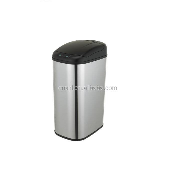 15л металлический Автоматический Датчик мусорного ящика мусорное ведро