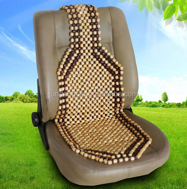 2017 new product wooden beard car seat cover