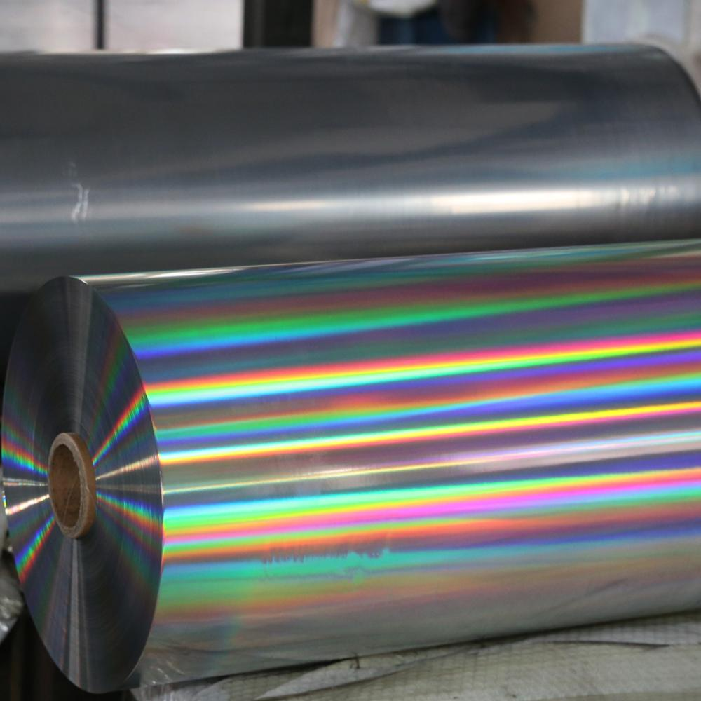 VMBOPP-Silberfolie mit hoher Barriere und vakuummetallisierter BOPP-Folie aus biaxial orientiertem Polypropylen