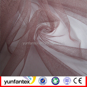 2016 100% polyester shiny mesh fabric for dress,christmas decoration